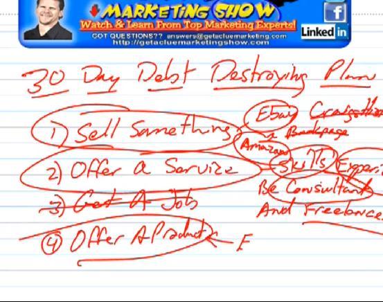 30 day debt freedom plan
