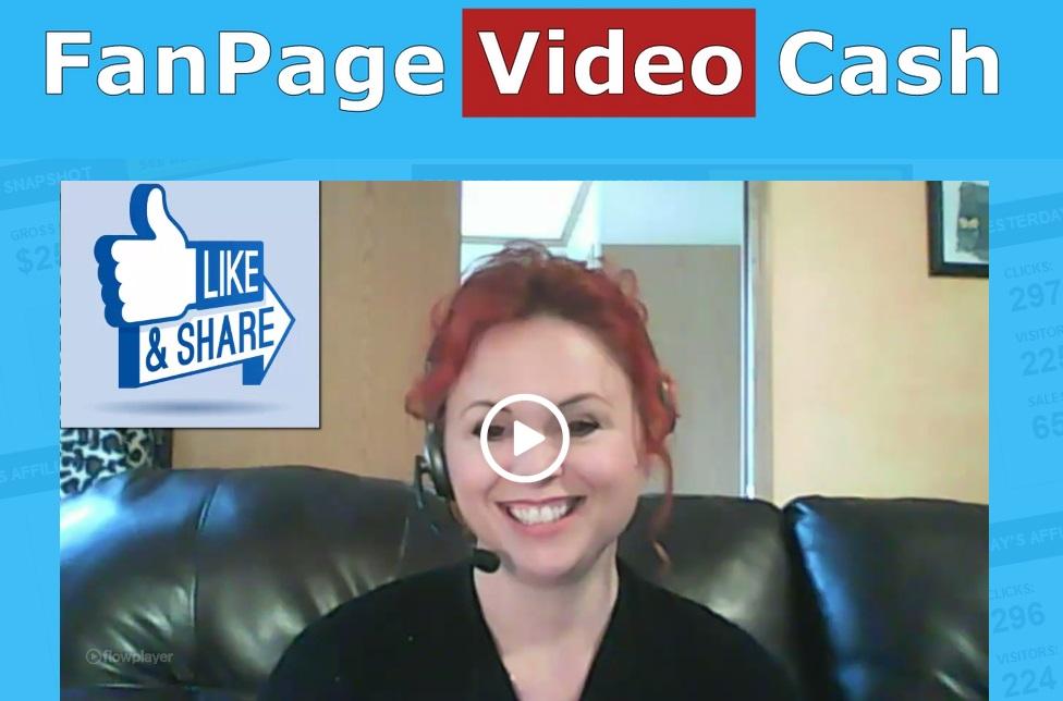 FanPage Video Cash
