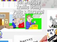 polls surveys get massive traffic